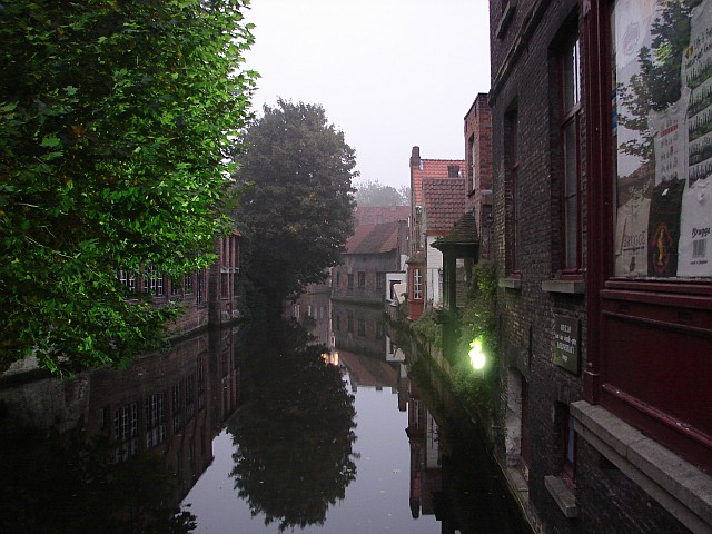 The lovely waterways of Brugge